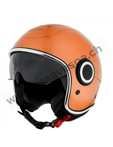 Casque Vespa Jet VJ1 Orange