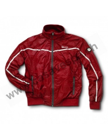 Veste Ultralight Homme Rouge